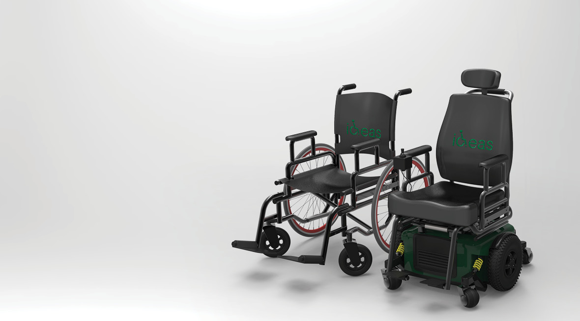 wheelchair accessories, mounting and assistive living devices